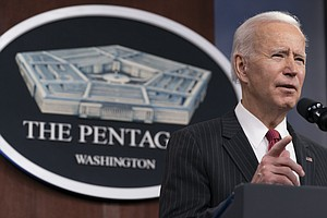 Photo for Biden Announces He Will End America's Longest War In Afghanistan