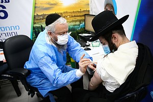 How Israel Persuaded Reluctant Ultra-Orthodox Jews To Get Vaccinated Against ...