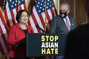In Rare Moment Of Bipartisan Unity, Senate Approves Asian American Hate Crime...