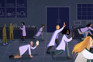 Scientists Say The Rush To Do COVID Research Led To A Whole Lot Of Waste