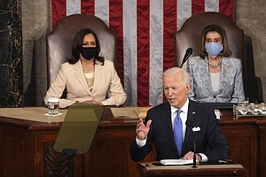 Biden Tells Congress His Administration Is 'Delivering Real Results'