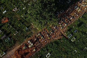 Brazil COVID-19 Deaths Top 400,000 Amid Fears Of Worsening Crisis