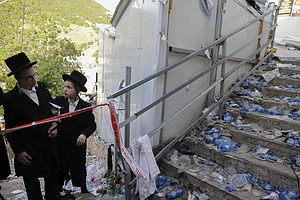 Dozens Crushed To Death, Scores Injured In Stampede At Israeli Religious Fest...