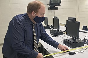 A Principal And His Tape Measure: Schools Are Helping Do COVID-19 Contact Tra...