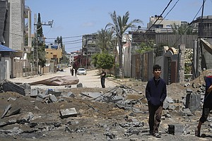 In Gaza, Families Have Huddled At Home, Hoping For A Warning Before An Israel...
