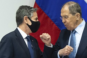 Top U.S., Russian Diplomats Met For First Time After New Sanctions Increased ...