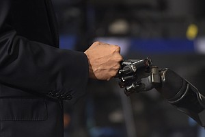 Scientists Bring The Sense Of Touch To A Robotic Arm