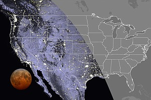 How To Watch The 'Super Flower Blood Moon' Lunar Eclipse This Week