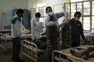 COVID-19 Has Pushed India's Junior Doctors To Their Limits