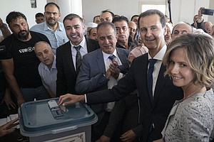 Syrian Election Shows The Extent Of Assad's Power