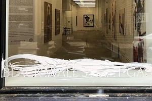 New York Gallery Hosting A Tulsa Race Massacre Exhibit Is Vandalized With Whi...