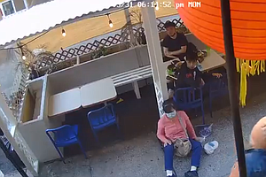 A Video Shows A Man Suddenly Hitting An Asian Woman In NYC's Chinatown