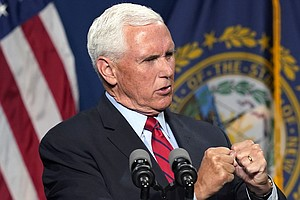 Pence Distances Himself From Trump Over Jan. 6 Insurrection