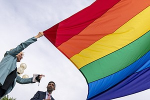 The Pentagon Is Keeping Its Ban On The Pride Flag And Other Flags At Installa...