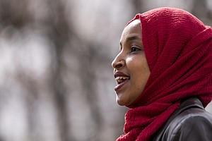 Omar Is Forced To Clarify After Democrats Say She Equated U.S., Israel With T...