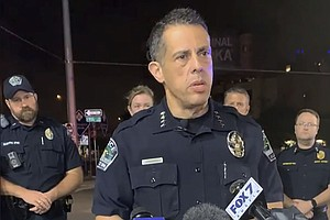 Austin Police Arrest 1 Of 2 Suspects In Mass Shooting That Wounded 14