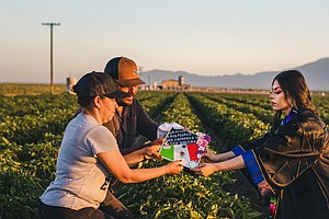 A College Grad Honored Her Parents With A Photo Shoot In The Fields Where The...