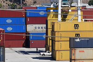 Cargo Is Piling Up Everywhere, And It's Making Inflation Worse