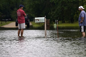 Tropical Storm Claudette Brings Rain And Floods To The Gulf Coast