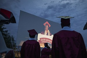 High School Graduations Brought Joy This Year, Even If They Weren't Back To N...