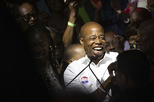 New York City Narrows The Democratic Field For Mayor With Eric Adams Taking T...
