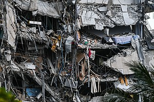 At Least 1 Dead After A 12-Story Building Partially Collapses Near Miami