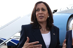 Harris Is Visiting The Southern Border After Trying To Keep The Focus Away Fr...