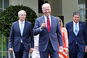 Here's What's Included In The Infrastructure Deal That Biden Struck With Sena...