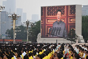 China Celebrates Its Communist Party's Centennial With Spectacle, Saber Rattling