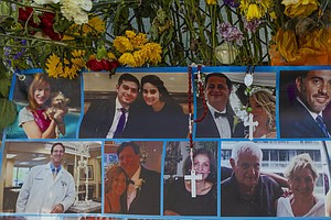 Mental Health Counselors Address Enormous Grief From Surfside Families