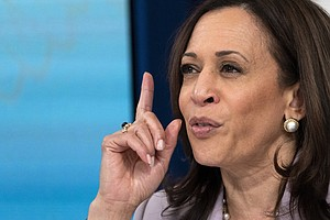 Vice President Harris Hints That She Has Discussed Filibuster Changes With Se...