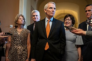 Bipartisan Senate Negotiators Say They Reach A Deal On Infrastructure After H...