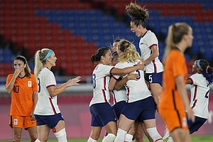 U.S. Women's Soccer Team Beats The Netherlands And Advances To Olympic Semifi...