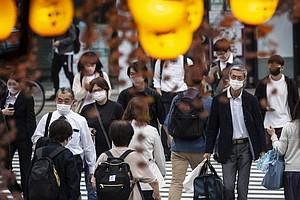 Tokyo's New COVID-19 Infections Hit A Record Again, Topping 4,000 For The Fir...