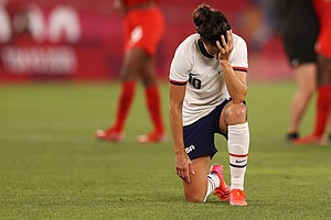 The U.S. Women's Soccer Team Has Lost Its Shot At The Gold Medal