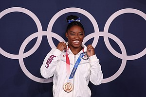 She's Still Dealing With The Twisties, But Simone Biles Wins Another Medal In...