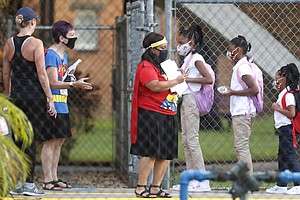 Some Florida School Districts Will Require Masks. The Governor May Cut Their ...
