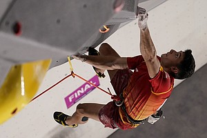 An 18-Year-Old From Spain Wins The 1st Olympic Gold Medal In Climbing