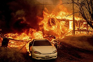 The Dixie Fire Explodes To Become The 3rd-Largest Wildfire In California's Hi...