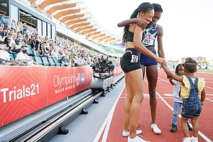 Both U.S. Women Competing In The Olympic 400-Meter Final Are Moms
