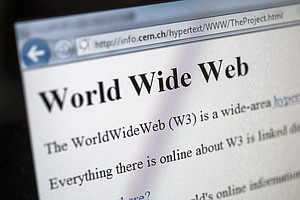 A Look Back At The Very First Website Ever Launched, 30 Years Later