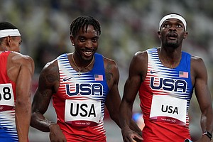 U.S. Men Win 4x400 Meter Relay And Get The Team's First Track Gold In Tokyo