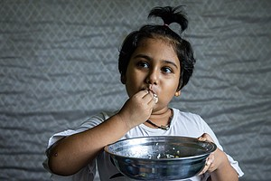 PHOTOS: How Families Struggle To Feed Their Kids In The Pandemic