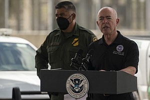 U.S. Encounters An 'Unprecedented' Number Of Migrants. DHS Says 'It's Complic...