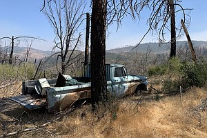 In Fire Scorched California, Town Aims To Buy The Highest At-Risk Properties