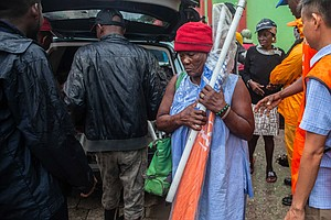 They Can't Afford Haiti Fatigue. So They Rally As Another Disaster Hits