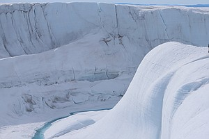 Rain Fell On The Peak Of Greenland's Ice Sheet For The First Time In Recorded...