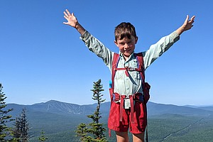 He Hiked 2,100 Miles In 209 Days To Complete The Appalachian Trail. He's Only 5