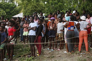 Almost 2 Weeks After The Quake, Aid Is Just Getting To Some Remote Towns In H...