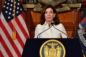 New York Gov. Kathy Hochul Discusses What It Will Take To Move The State Forward